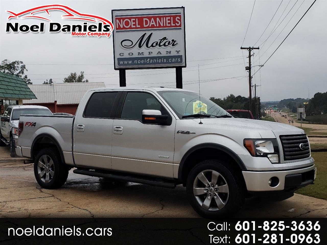 2012 Ford F-150 4WD SuperCrew FX4 3.5L Ecoboost