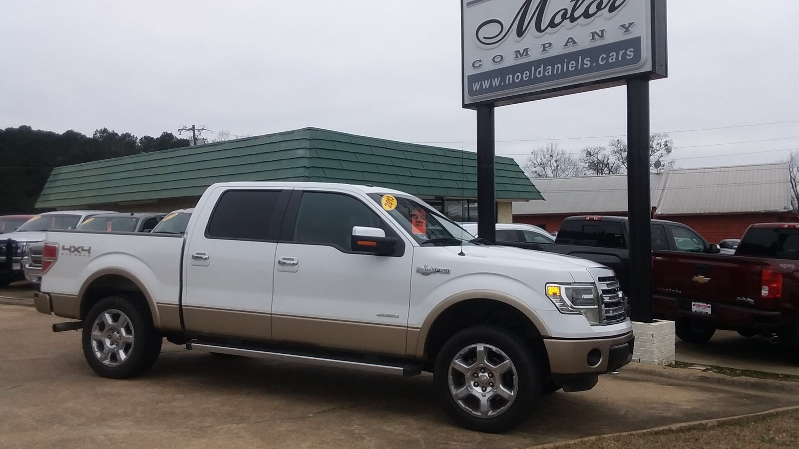 2013 Ford F-150 4WD SuperCrew King Ranch 3.5L Ecoboost