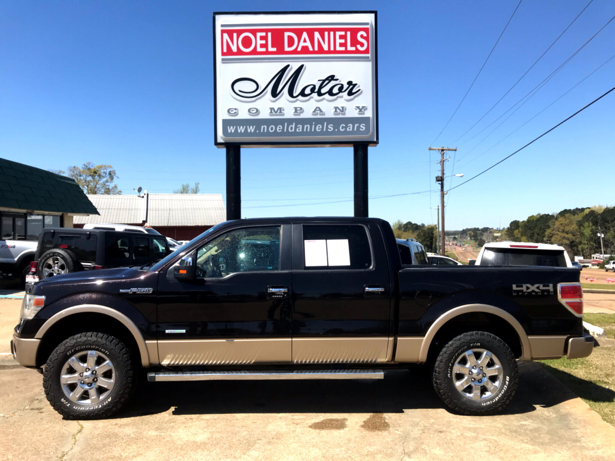 2014 Ford F-150 4WD SuperCrew Lariat 3.5L Ecoboost
