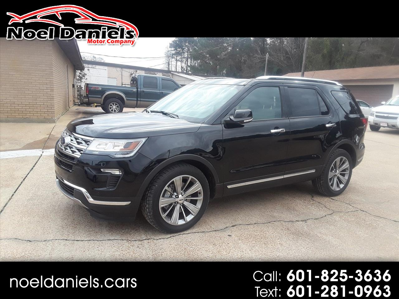 2018 Ford Explorer Limited FWD 3.5L V6