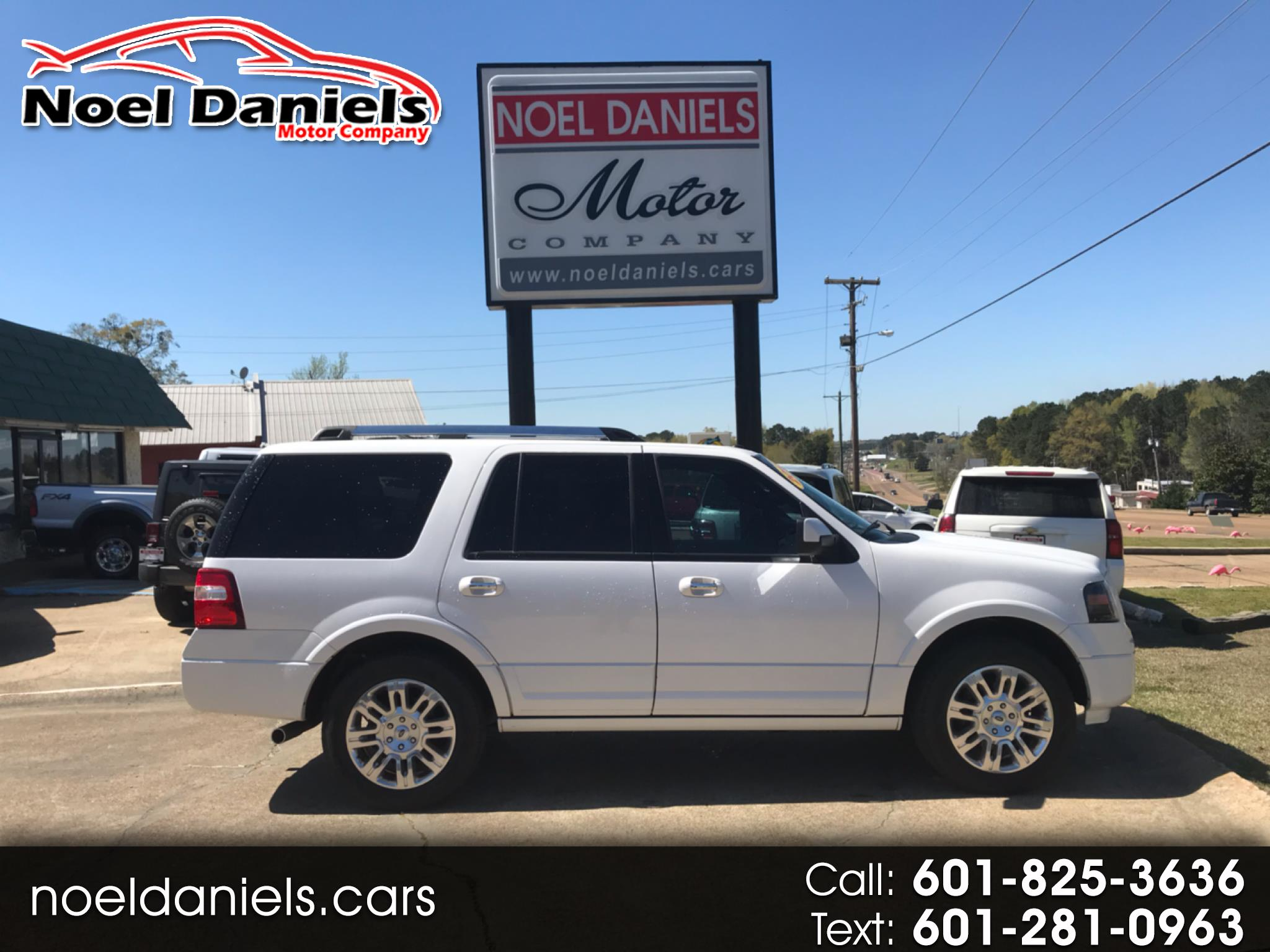 2013 Ford Expedition Limited RWD 4 dr 5.3L V8
