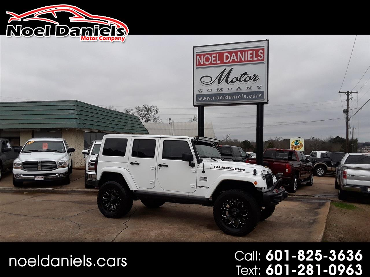 2015 Jeep Wrangler Unlimited 4WD 4 dr Rubicon Unlimited