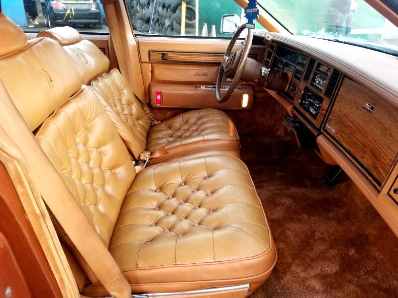 1984 Cadillac Seville Base