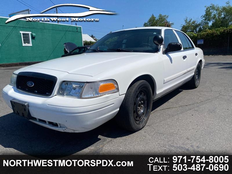 Ford Crown Victoria 4dr Sedan Police Interceptor 2009