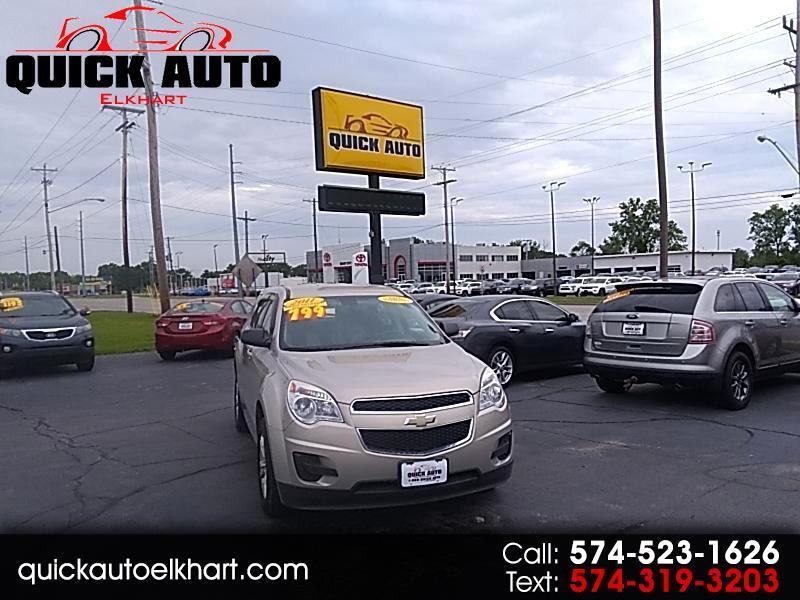 2011 Chevrolet Equinox LS 2WD