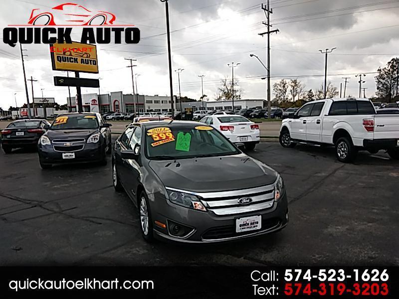 Ford Fusion Hybrid Sedan 2011