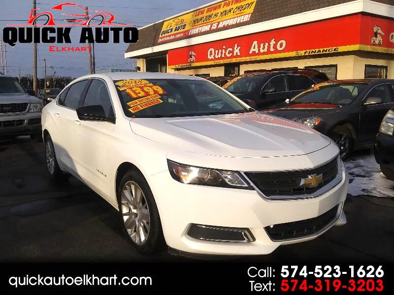 Chevrolet Impala LS Fleet 2018
