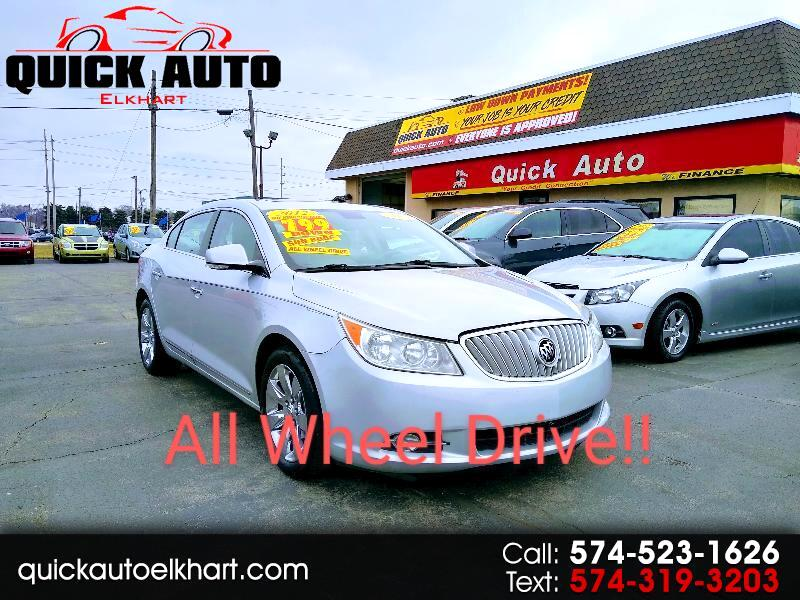 Buick LaCrosse Leather Group AWD 2012