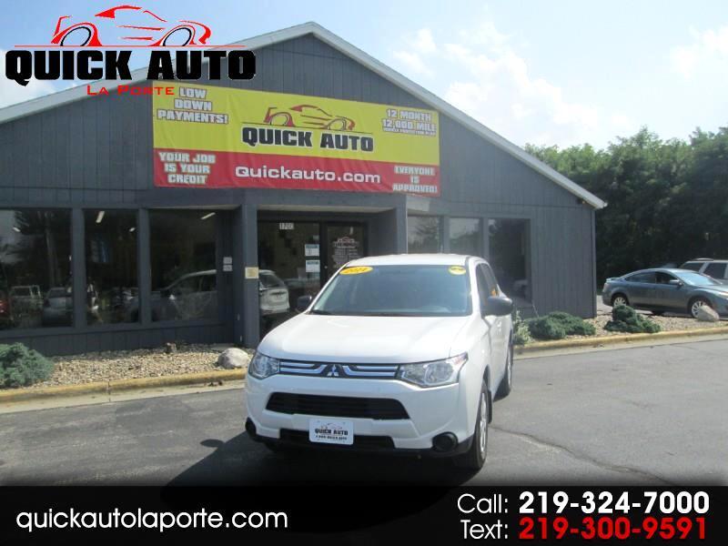 2014 Mitsubishi Outlander ES 2WD