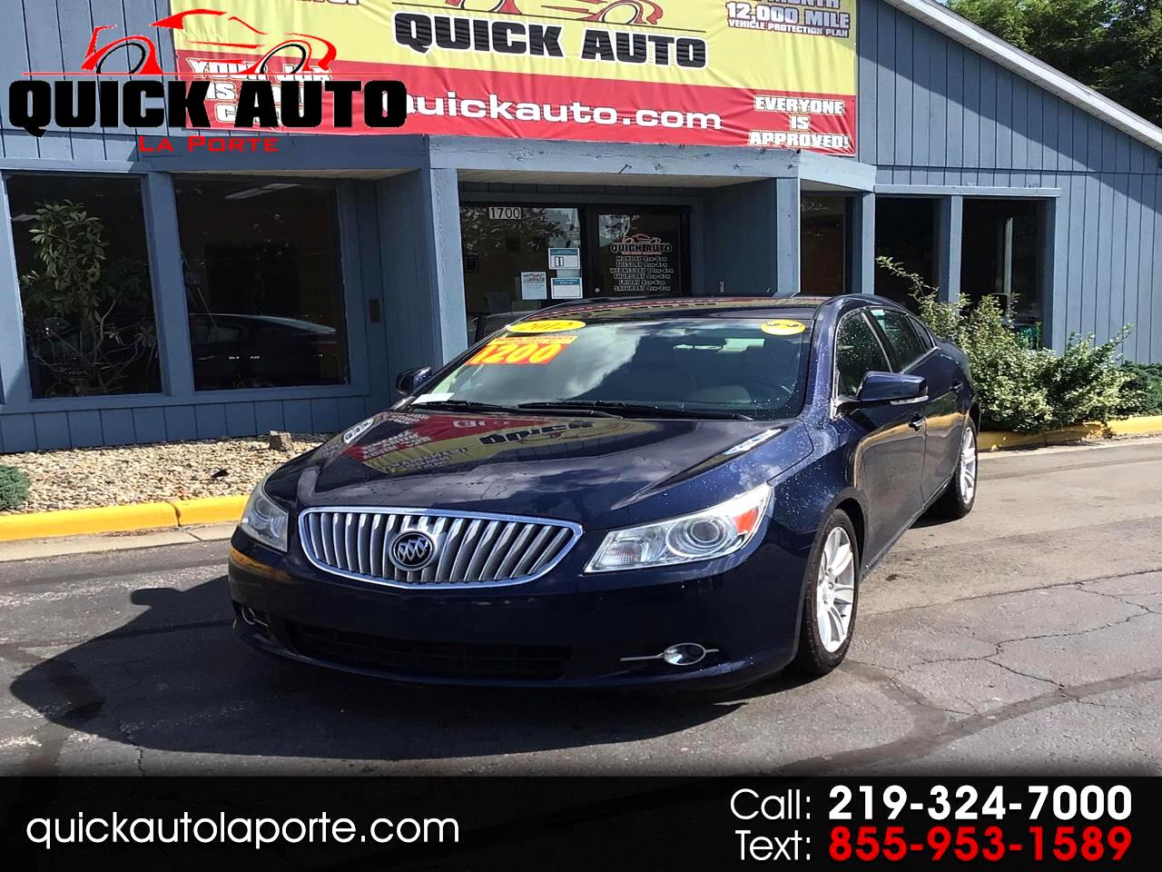 Buick LaCrosse 4dr Sdn FWD w/1SH 2012