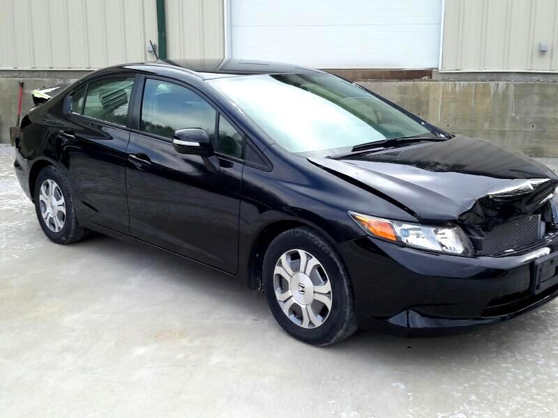2012 Honda Civic Hybrid 4dr Sdn