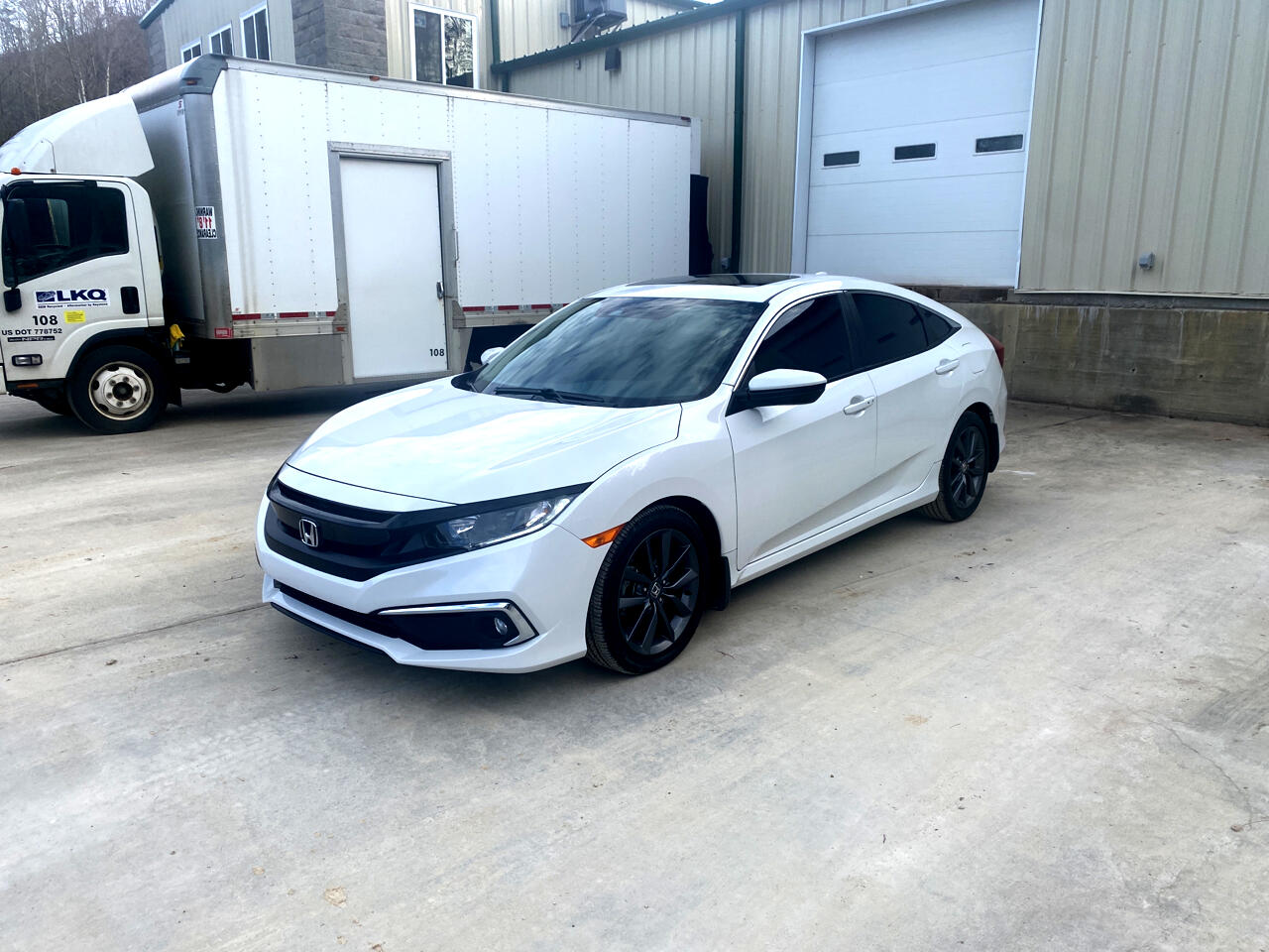 Honda Civic EX-T Sedan CVT 2019