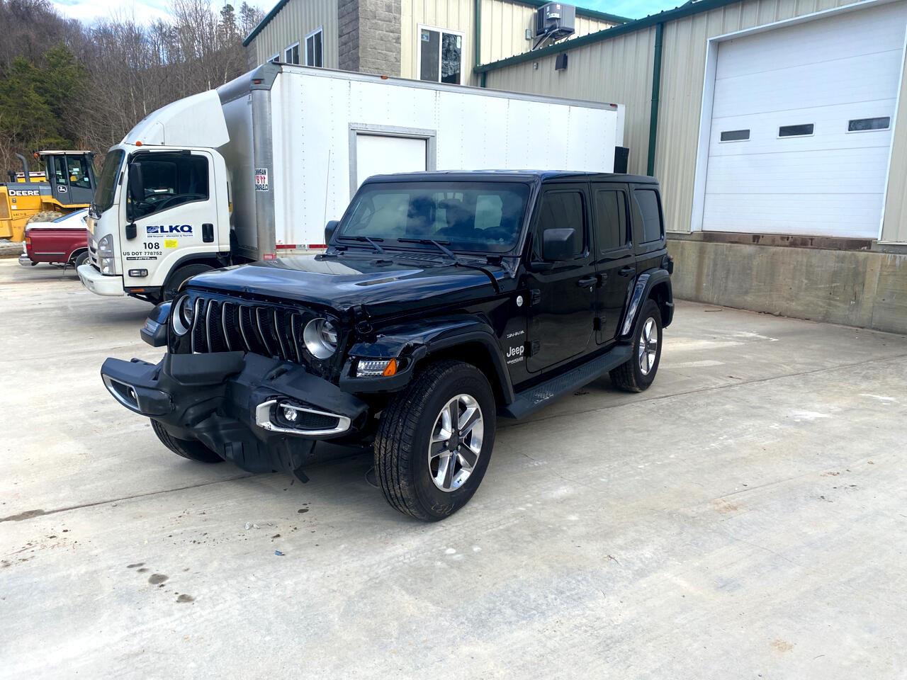 Jeep Wrangler Sahara Unlimited 2020