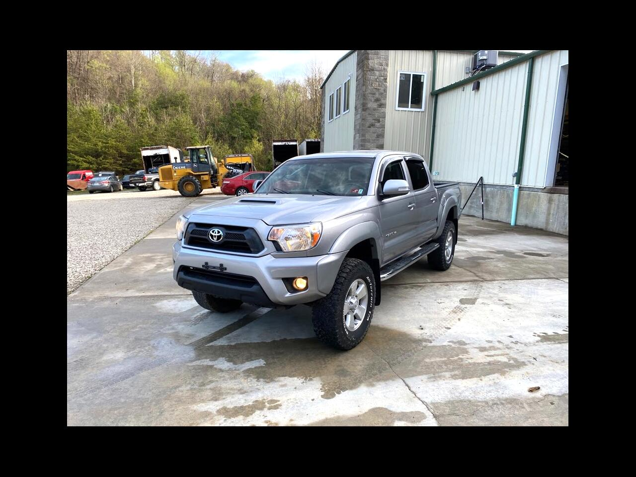 Toyota Tacoma TRD Sport Double Cab 5' Bed V6 4x4 AT (Natl) 2014