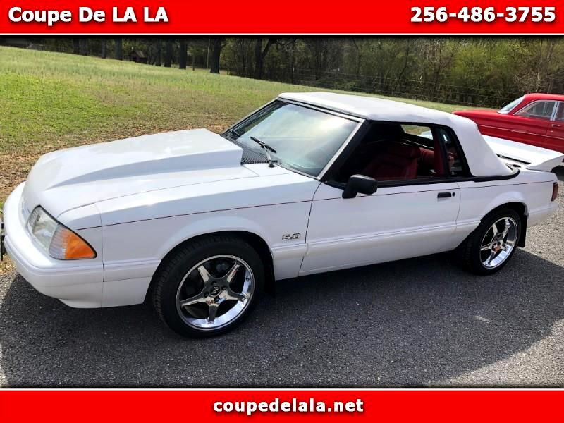 Ford Mustang LX 5.0L convertible 1990