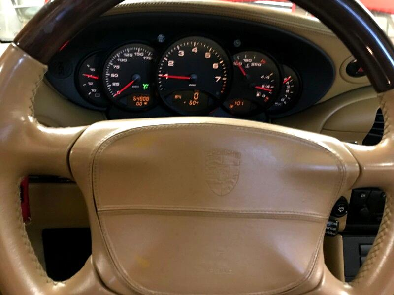 1999 Porsche 911 2dr Cabriolet 991 Carrera