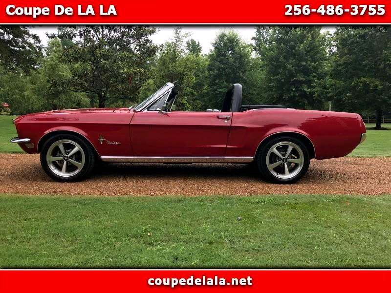1968 Ford Mustang 2dr Conv Deluxe