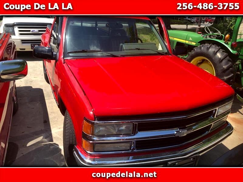 Chevrolet C/K 1500 Reg. Cab W/T 8-ft. bed 2WD 1992