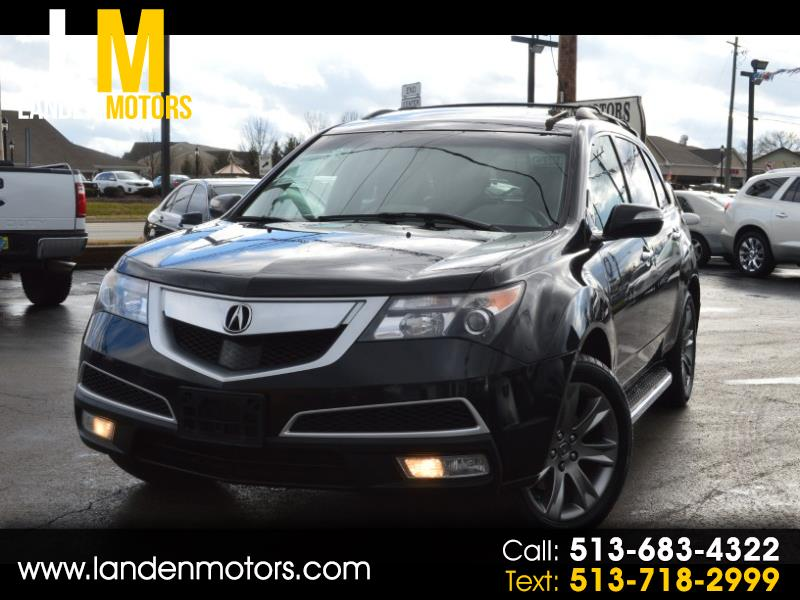 2011 Acura MDX ADVANCE AWD