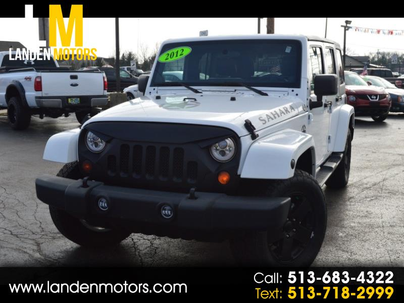 2012 Jeep Wrangler SAHARA UNLIMITED
