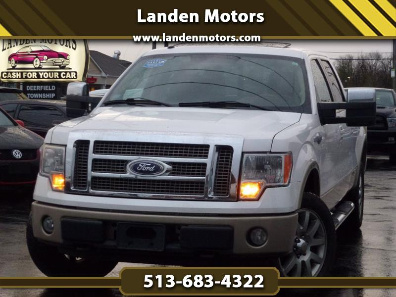 Ford F-150 King Ranch SuperCrew 6.5-ft. Bed 4WD 2010