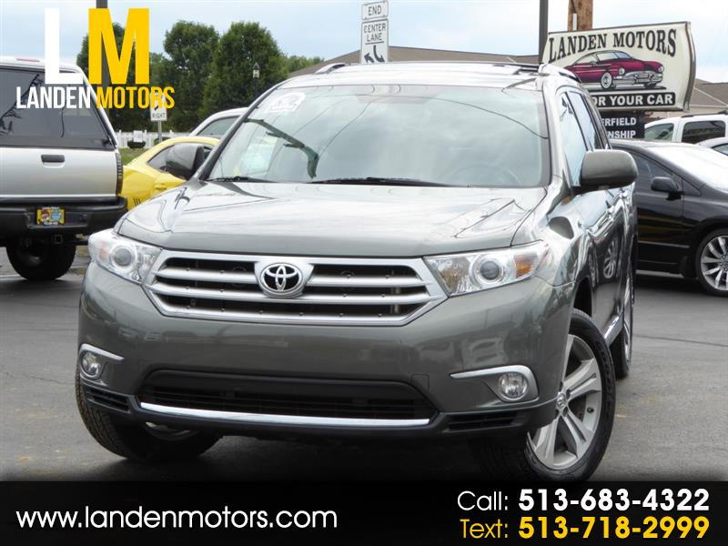 2013 Toyota Highlander LIMITED/DVD