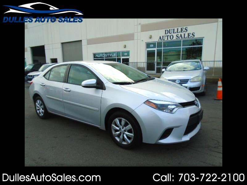 2014 Toyota Corolla S Premium CVT