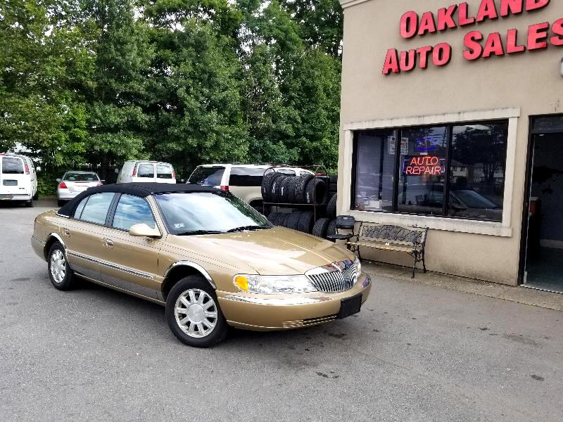 1999 Lincoln Continental 4dr Sdn w/Luxury Appearance