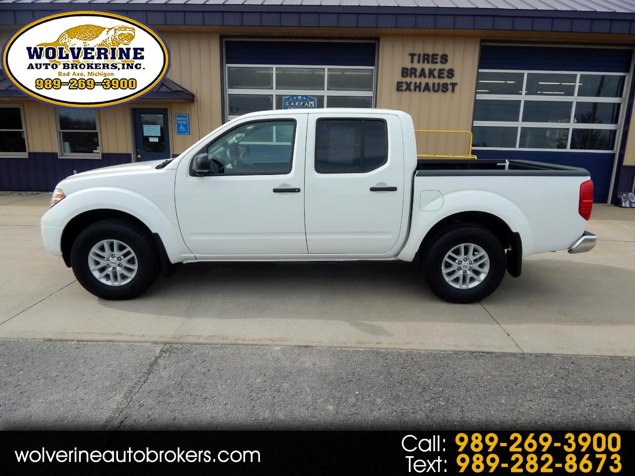 Nissan Frontier SV Crew Cab 5AT 4WD 2019
