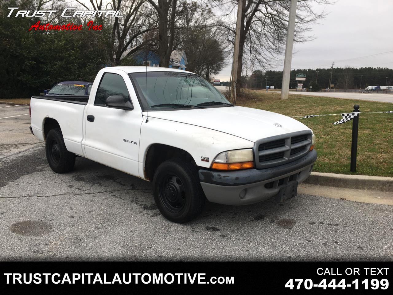 "Dodge Dakota Reg Cab 112"" WB SLT 1997"