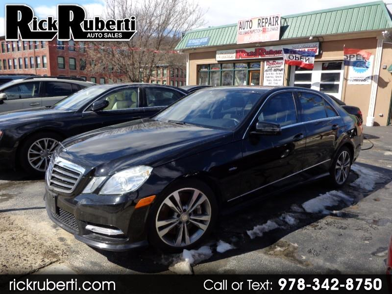 2012 Mercedes-Benz E-Class E550 Sedan 4MATIC