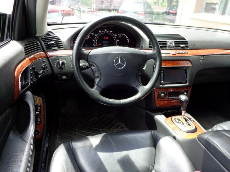 2004 Mercedes-Benz S-Class 4dr Sdn 4.3L 4MATIC