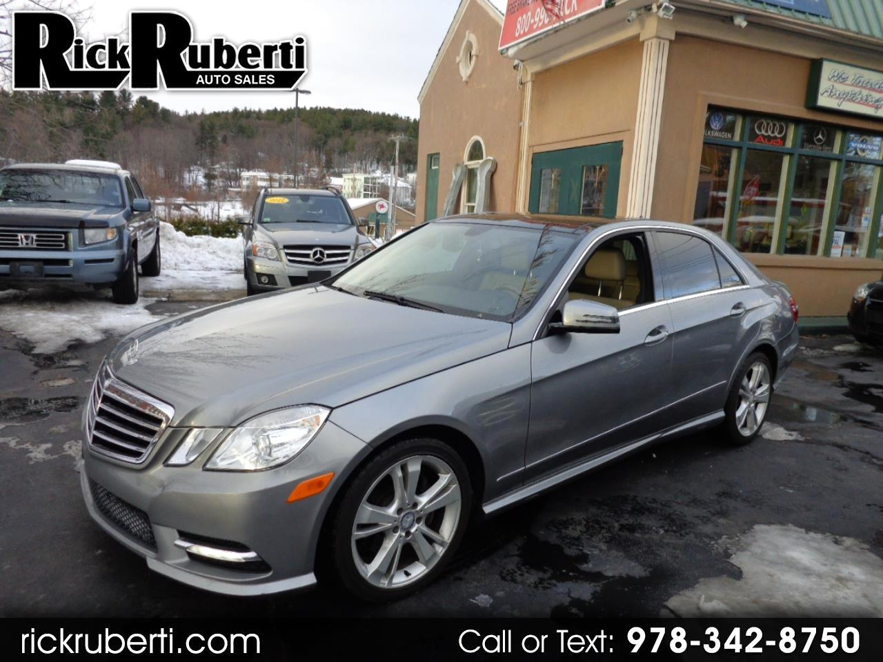 Mercedes-Benz E-Class 4dr Sdn E 350 Sport 4MATIC *Ltd Avail* 2013