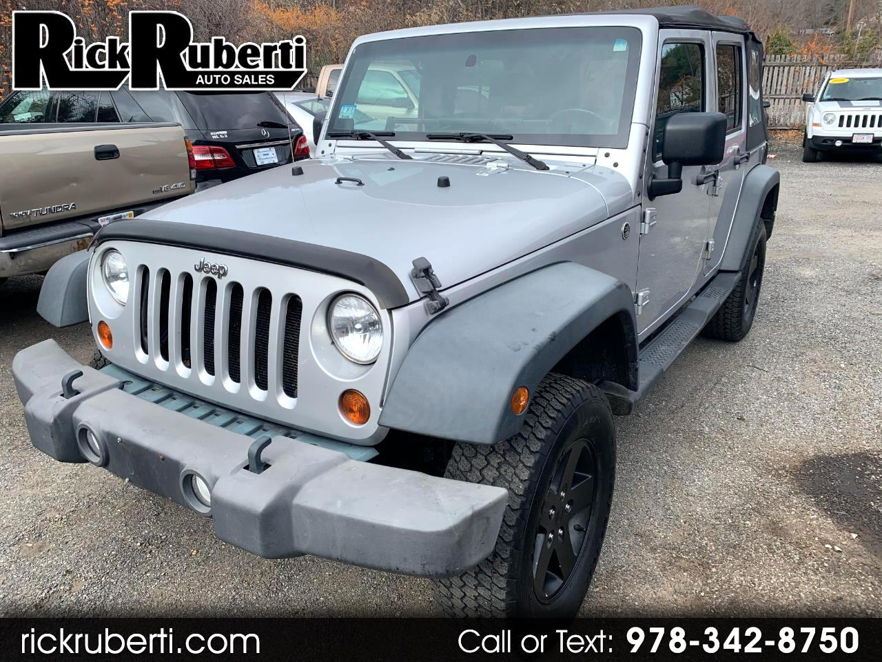 Jeep Wrangler Unlimited Sport 4x4 2010