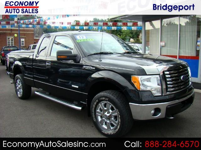 2012 Ford F-150 XLT SuperCab 8-ft. Bed 4WD