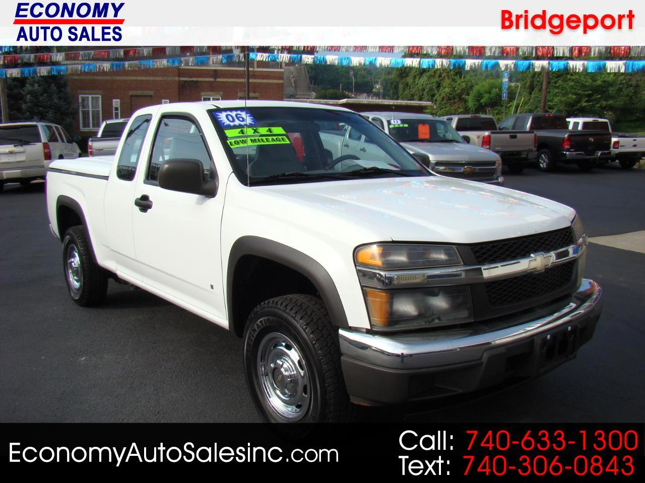 2006 Chevrolet Colorado Work Truck Ext. Cab 4WD