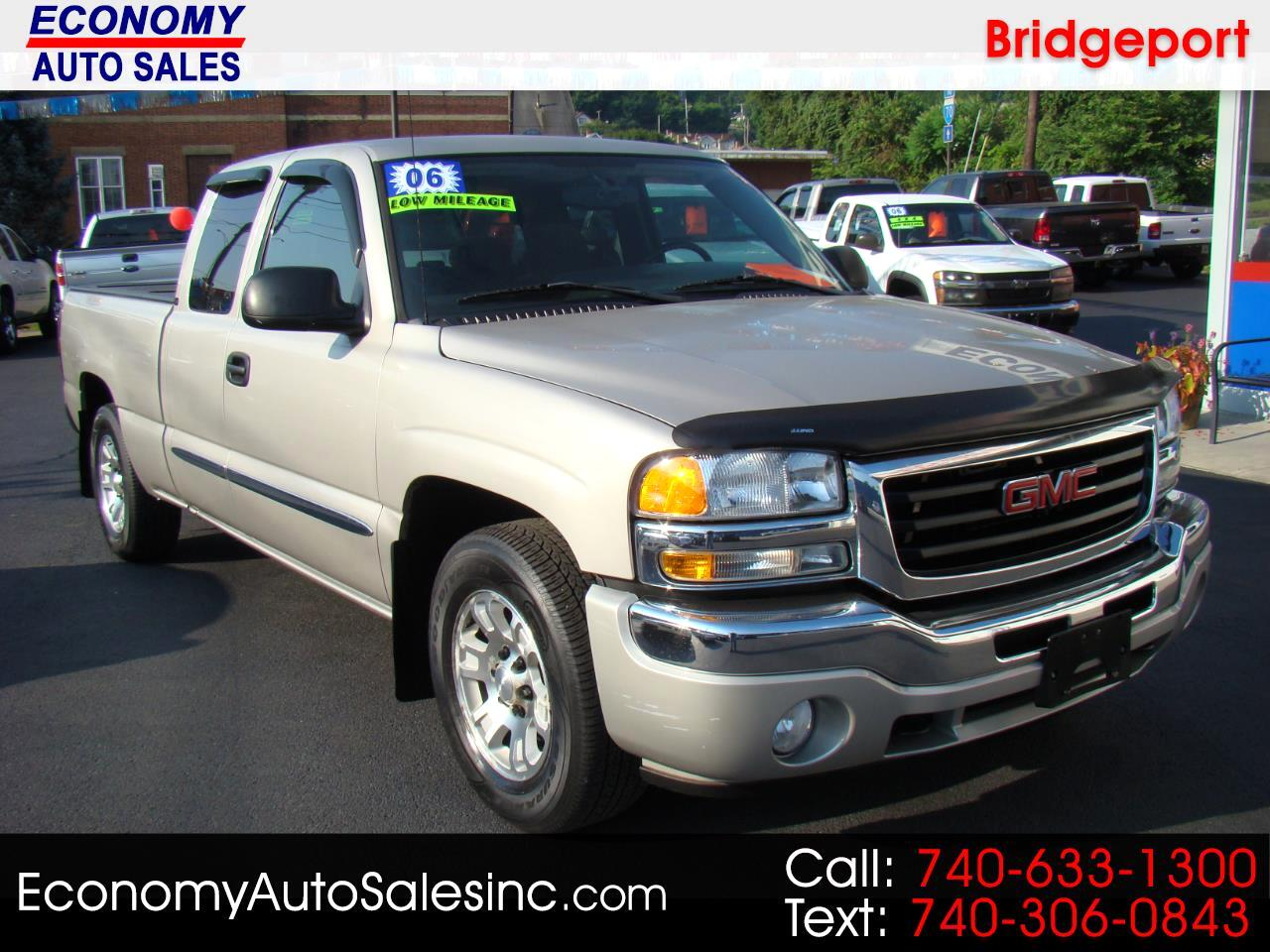 2006 GMC Sierra 1500 SLE1 Ext. Cab Short Bed 2WD