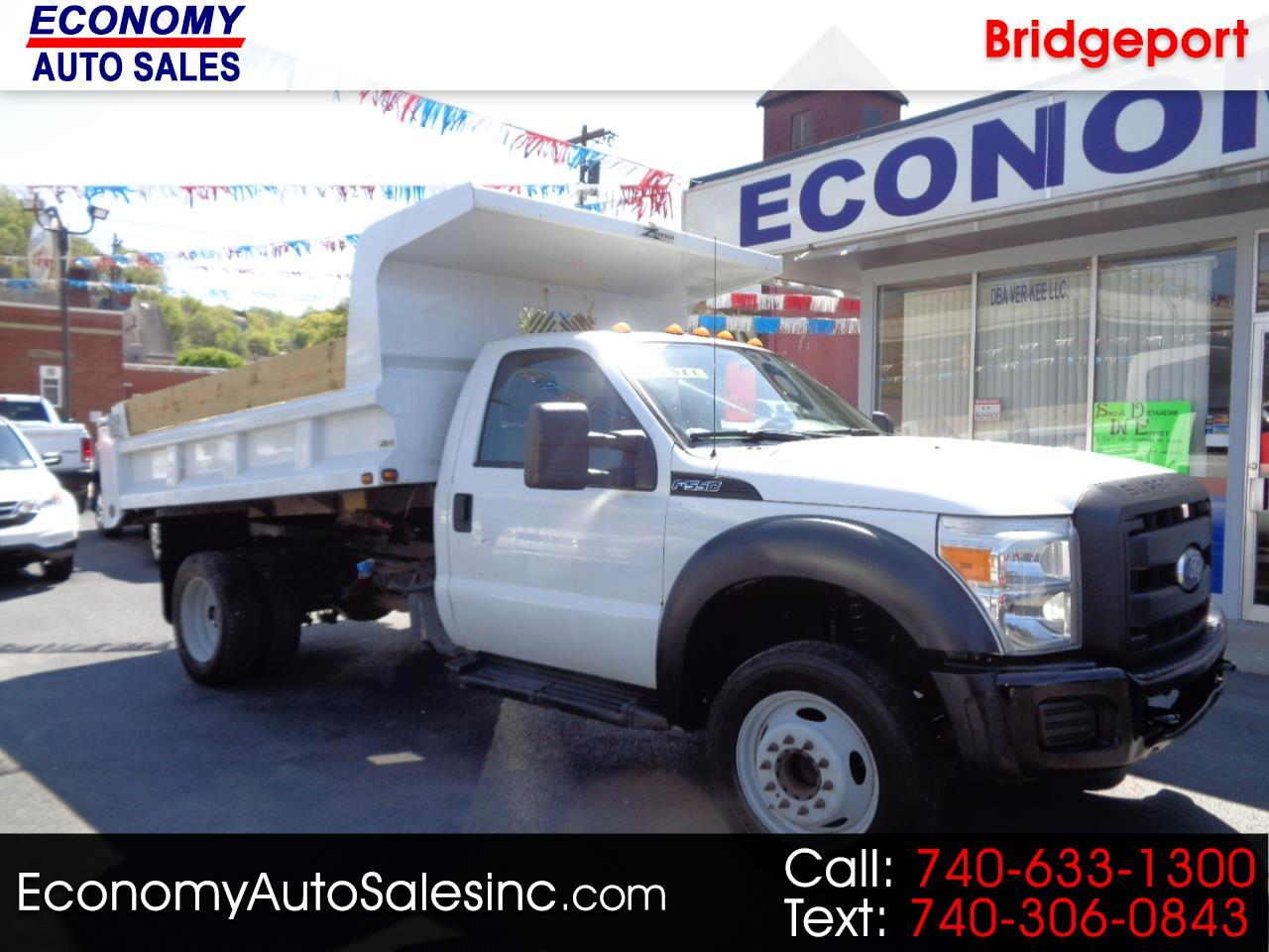 Ford F-550 Regular Cab DRW 2WD 2011