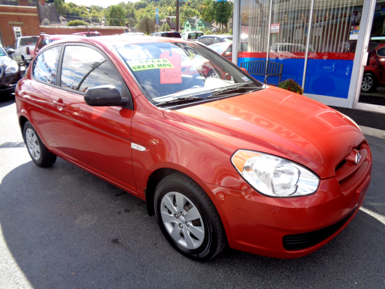 Hyundai Accent 3dr HB Man GS 2010