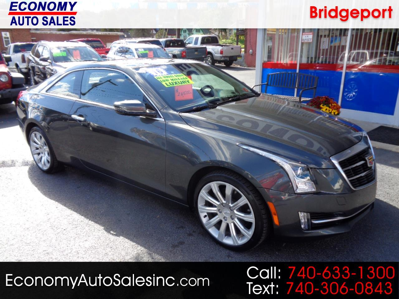 Cadillac ATS Coupe 2dr Cpe 2.0L Luxury Collection AWD 2016