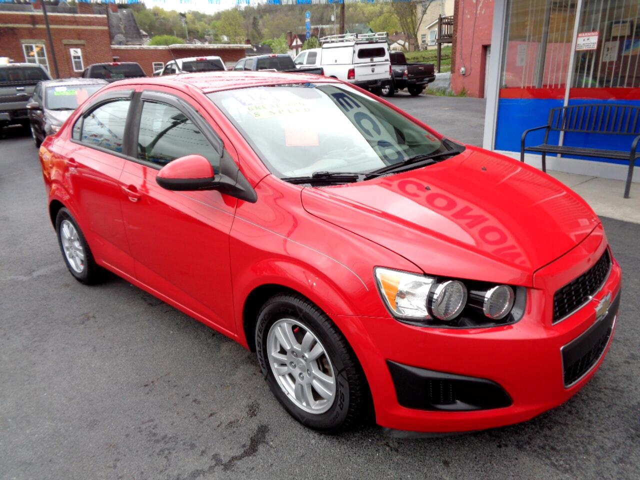 Chevrolet Sonic 4dr Sdn LS 1LS 2012