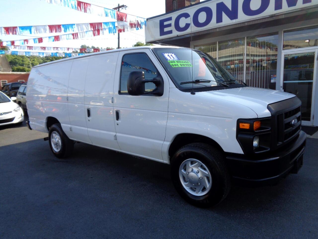 Ford Econoline Cargo Van E-350 Super Duty Ext Commercial 2011