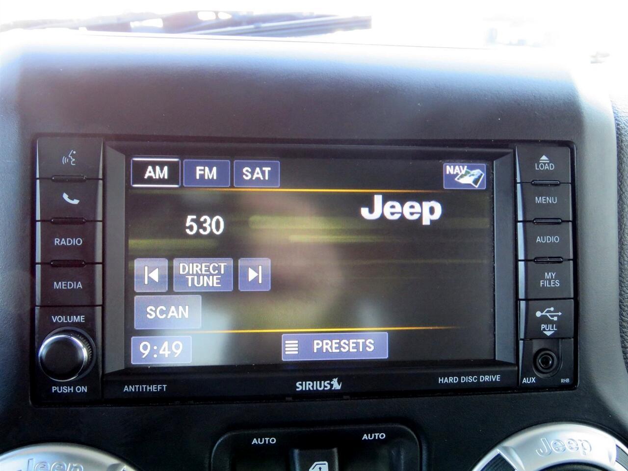 2018 Jeep Wrangler JK Sahara