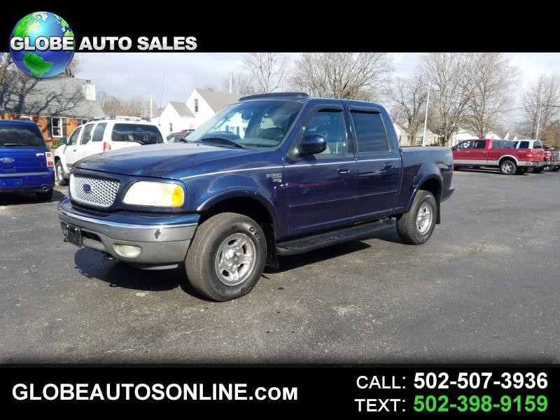 "2002 Ford F-150 4WD SuperCrew 139"" Lariat"