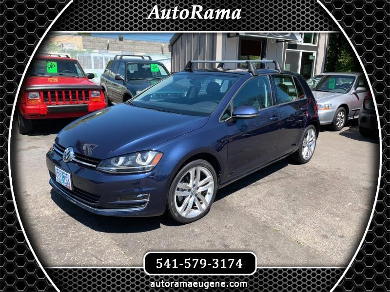 2015 Volkswagen Golf TSI SEL 1.8 TURBO