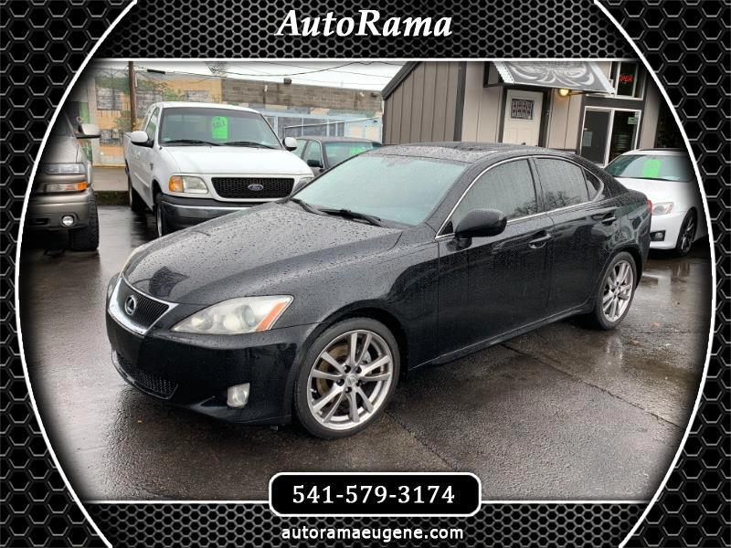 2008 Lexus IS IS250 / FULLY LOADED / NAV-BACK UP CAM / HEATED -C