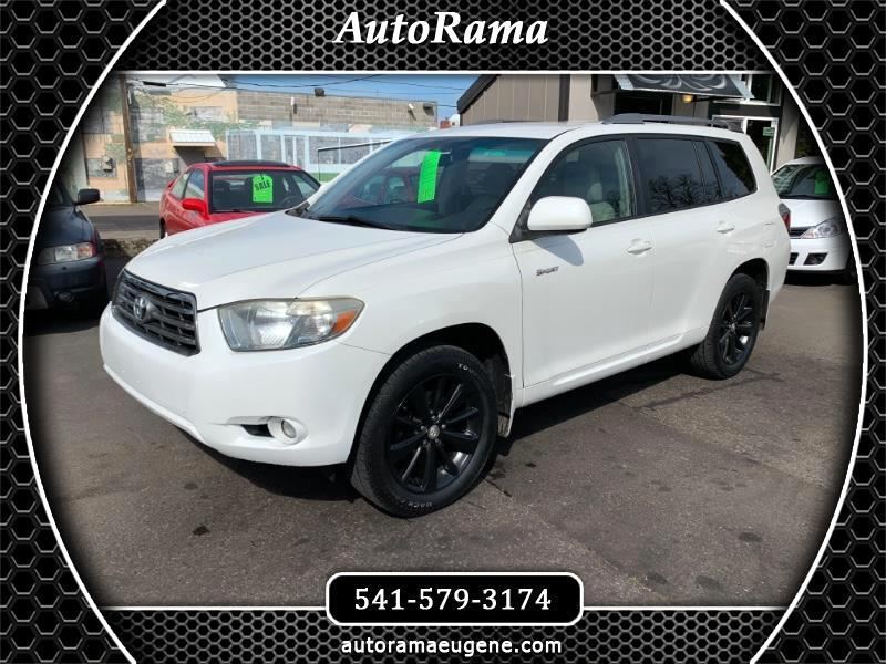 2008 Toyota Highlander 4WD / SPORT / 3RD ROW / 1 OWNER!