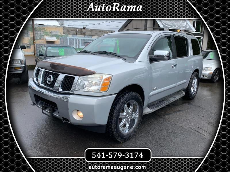 "2006 Nissan Armada LE / 4X4 / 3RD ROW / CUSTOM STEREO / 20"" WHEELS"
