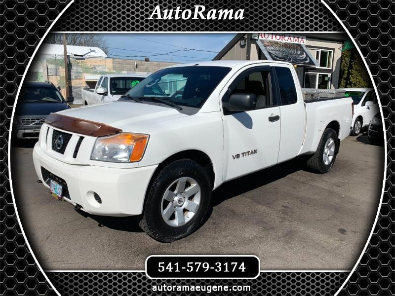 2008 Nissan Titan LE KING CAB / V8 / CLEAN  TITLE / READY TO WORK!