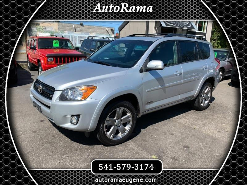 2011 Toyota RAV4 SPORT APPEARANCE PACKAGE / V6 4WD / CLEAN !